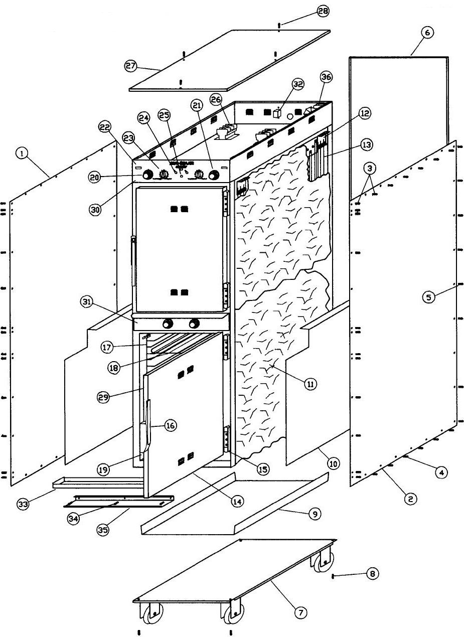 [WQZT_9871]  Alto Shaam 1000-TH-I/HD Parts Diagram | Parts Town | Alto Shaam Wiring Diagram |  | Parts Town