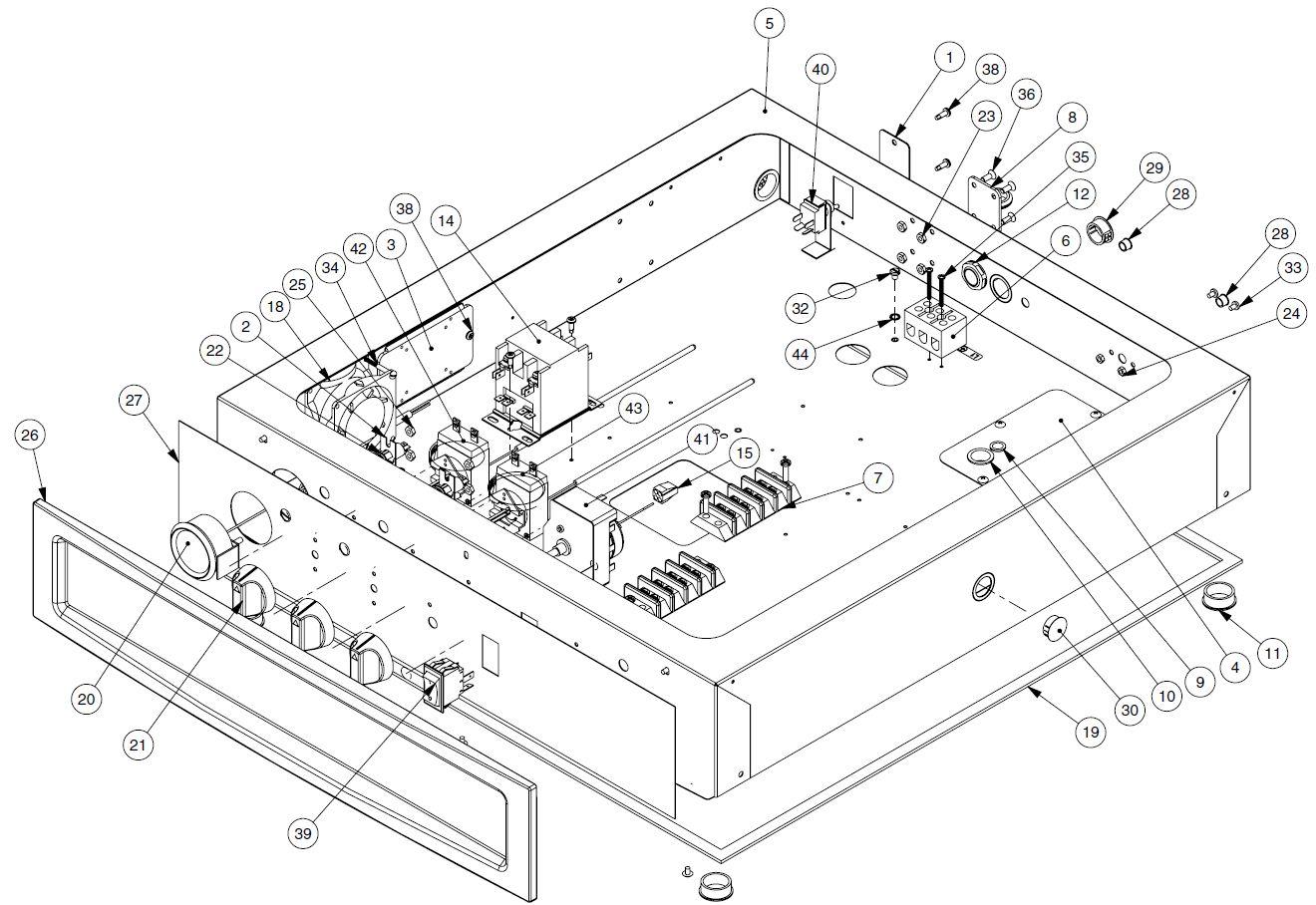 [QMVU_8575]  Alto Shaam 1000-TH-II Parts Diagram | Parts Town | Alto Shaam Wiring Diagram |  | Parts Town
