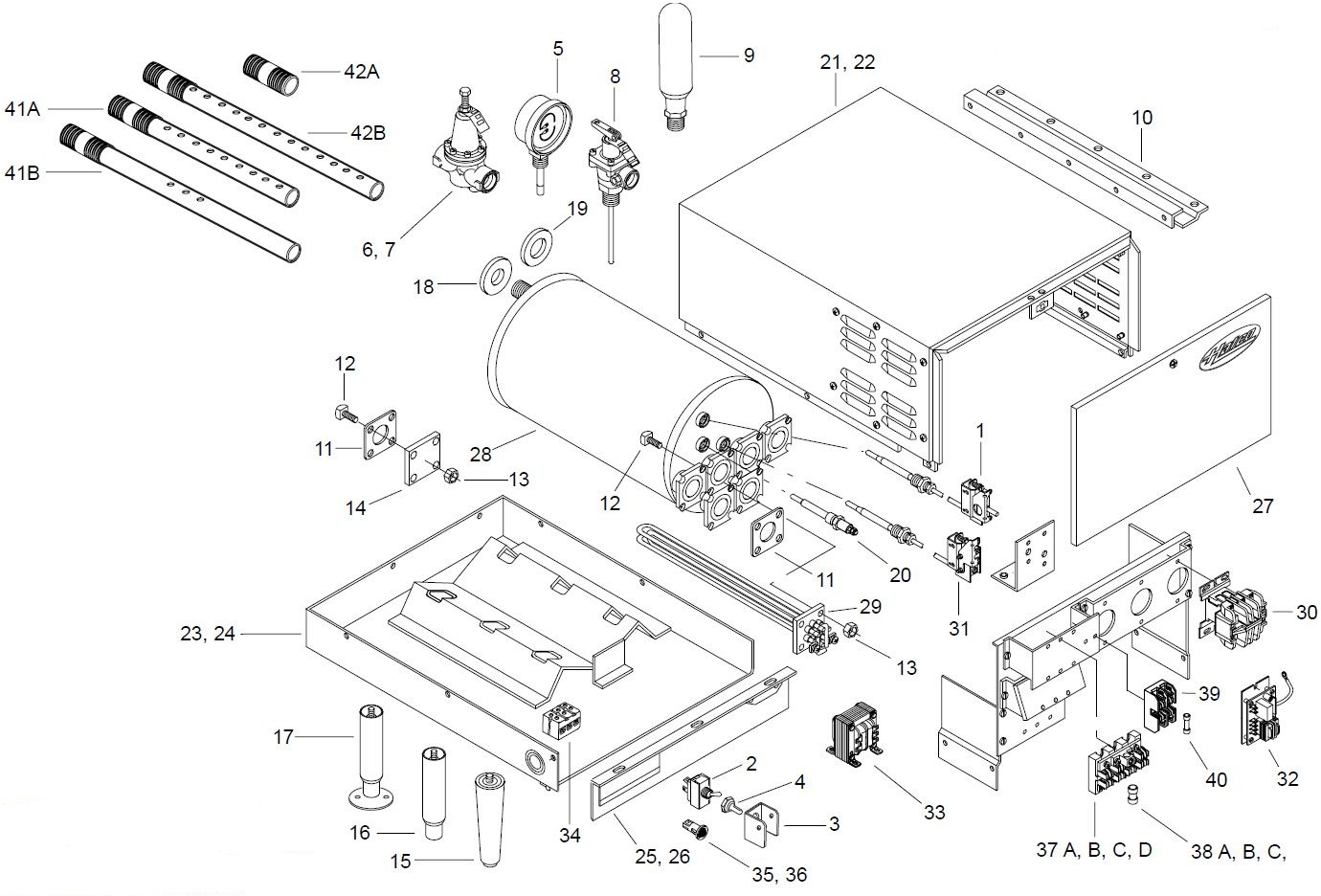 Hatco C-12 Parts Diagram | Parts TownParts Town