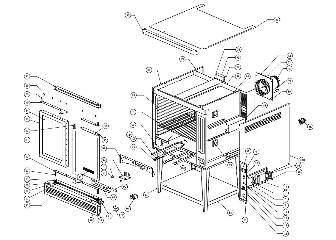 [SCHEMATICS_4NL]  Imperial ICV Parts Diagram | Parts Town | Imperial Range Wiring Diagram |  | Parts Town