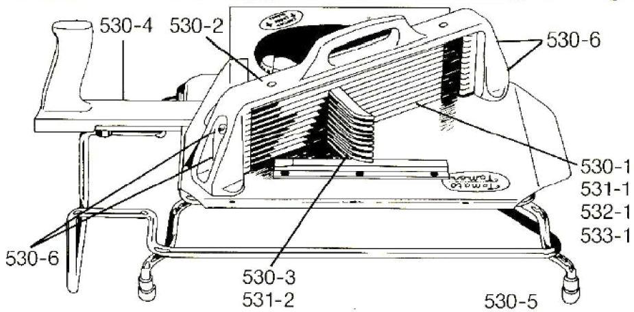 11 Blade Assembly Le-Jo E531-1 1//4
