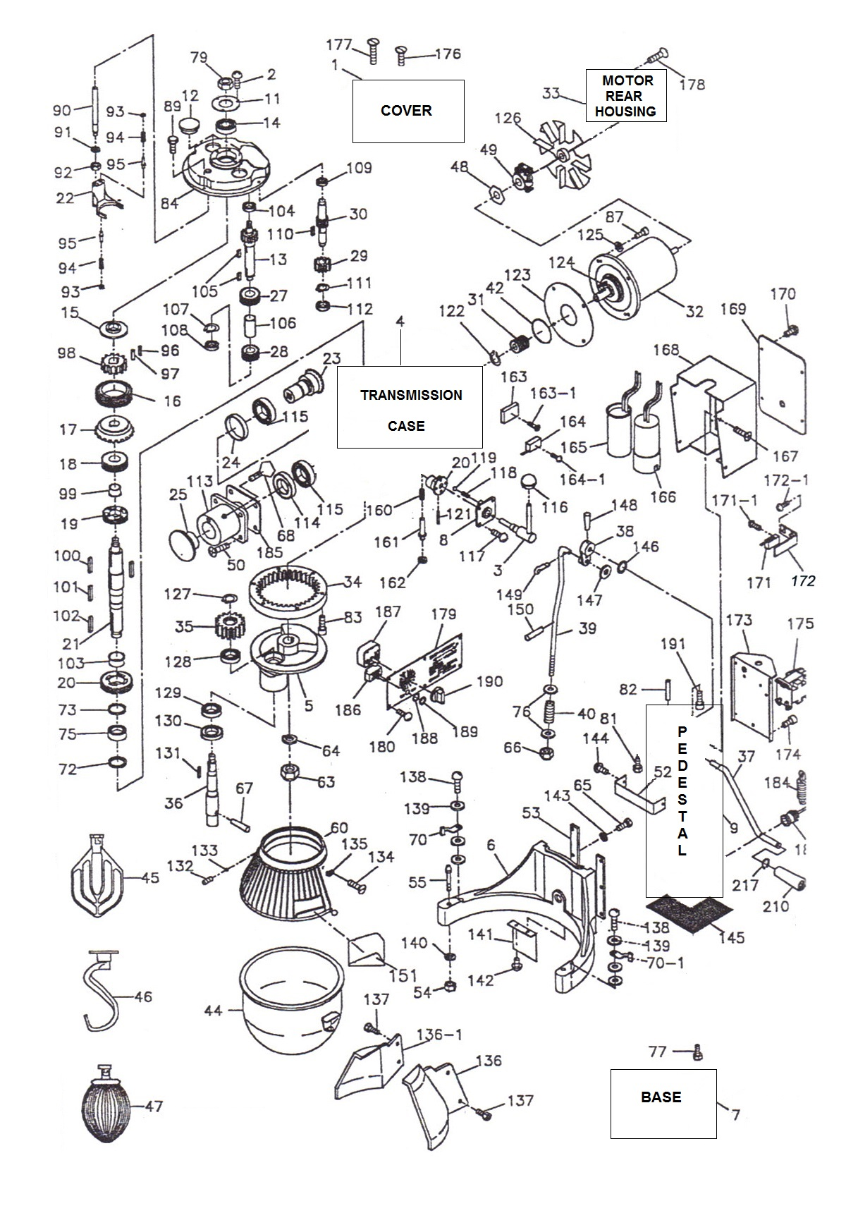 Thunderbird ARM-02 Parts Diagram | Parts TownParts Town