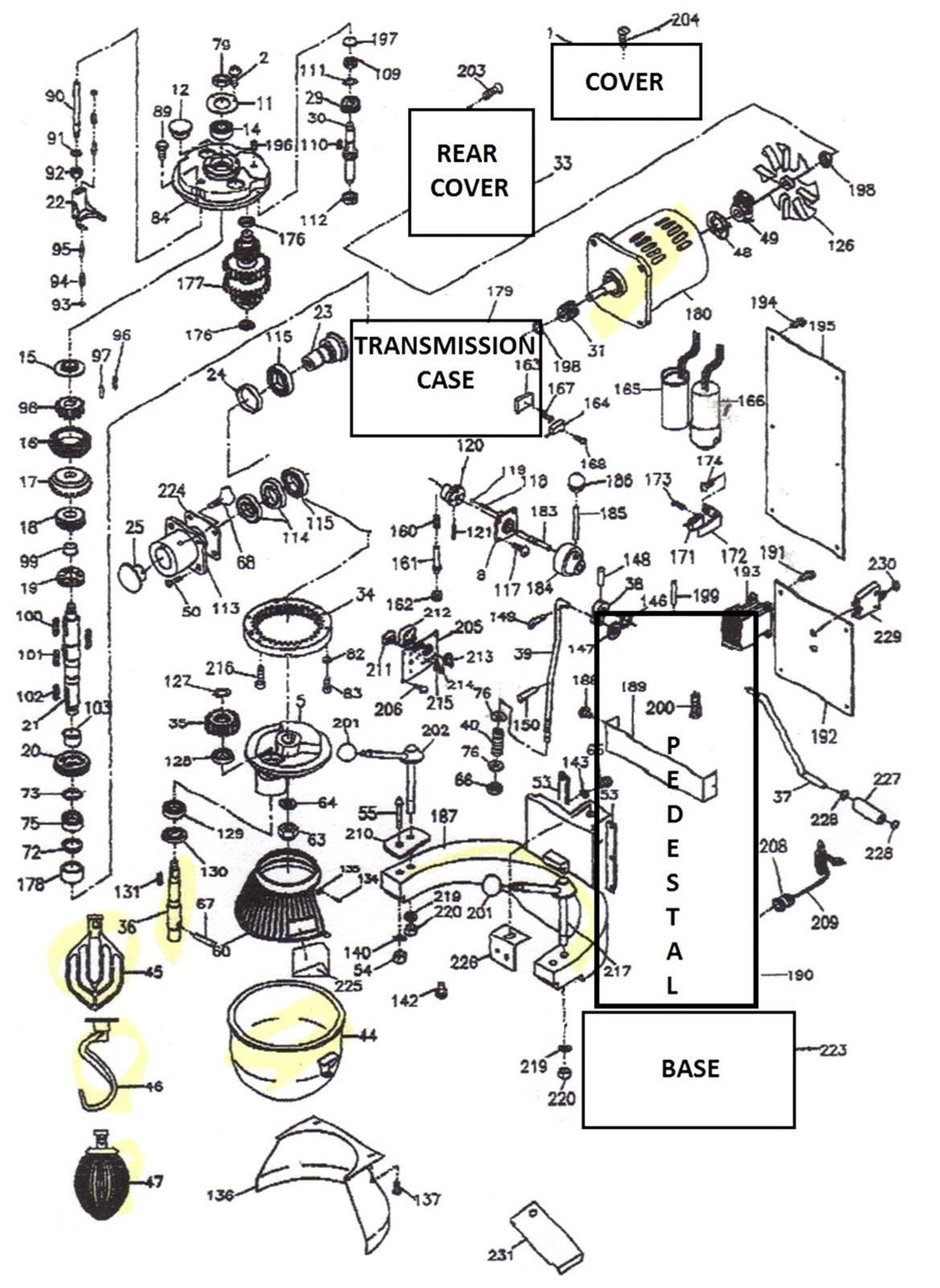 Thunderbird ARM-30 Parts Diagram | Parts TownParts Town