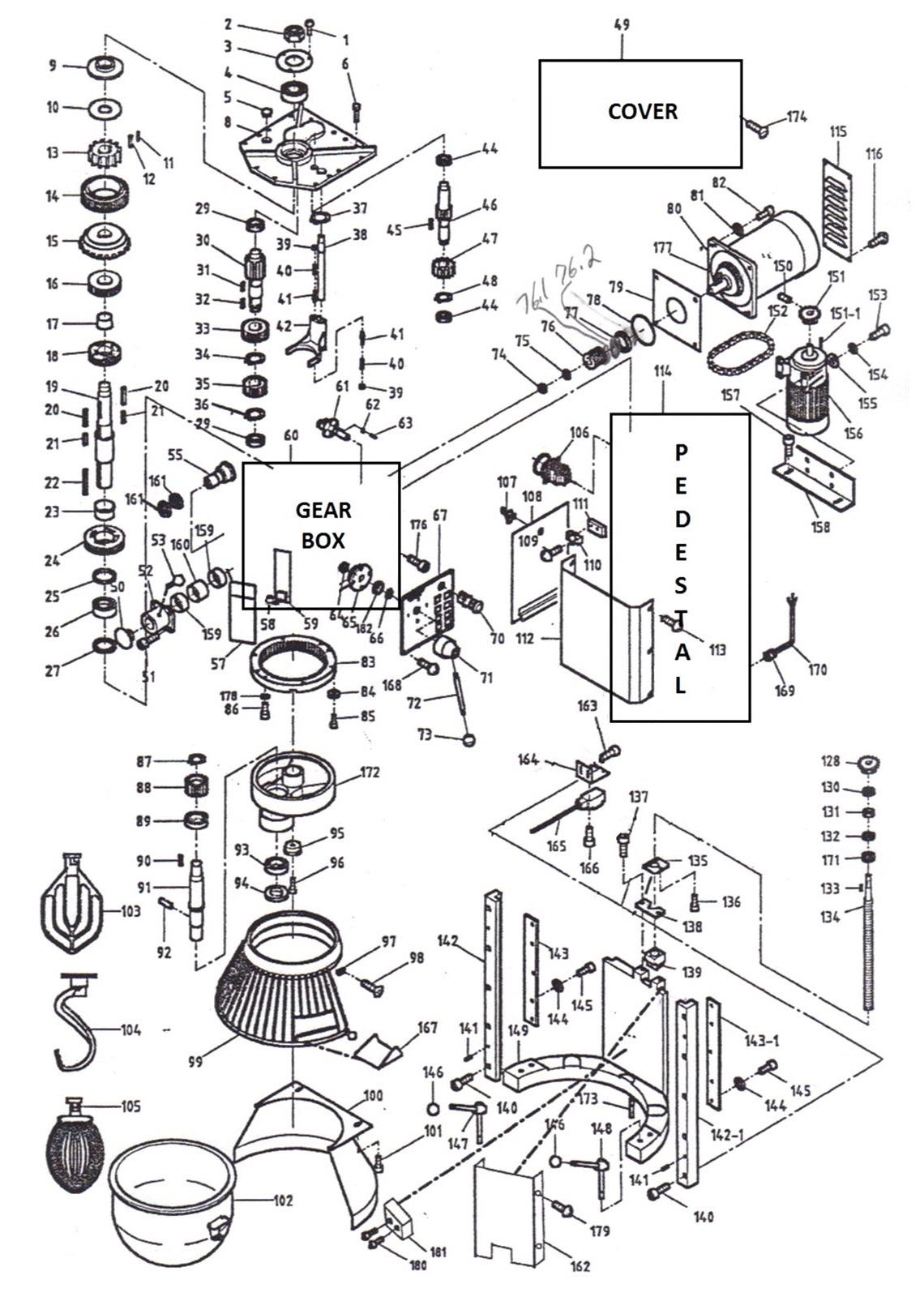 Thunderbird ARM-60 Parts Diagram | Parts TownParts Town