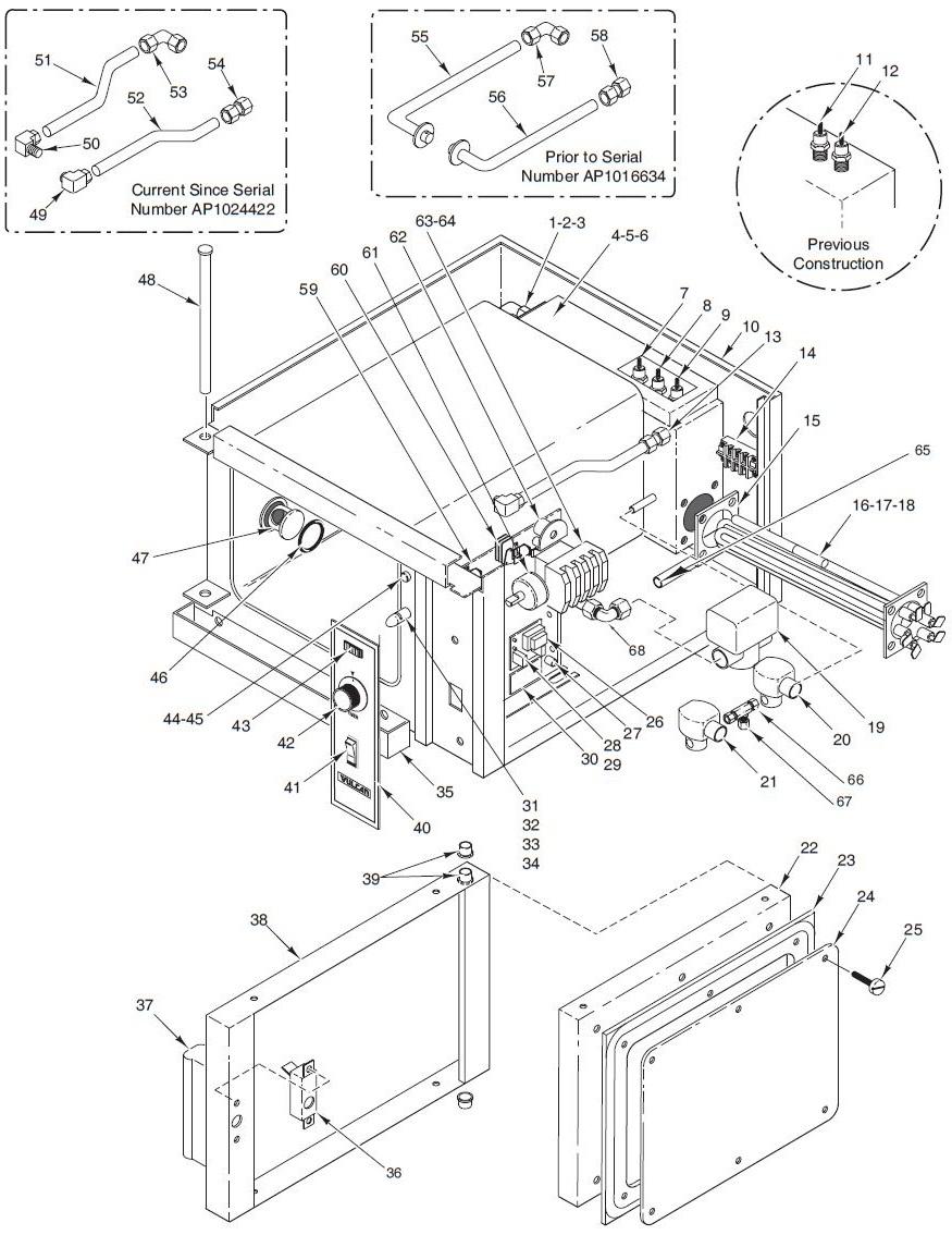 Vulcan Hart VSX9000 Parts Diagram | Parts TownParts Town
