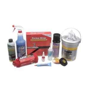 Produits chimiques, lubrifiants et Rubans